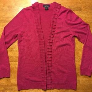 Brooks Brothers 346 Women's Pink Cardigan SweaterM